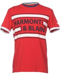 Harmont & Blaine - T-shirts - Lyst
