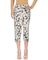 Manila Grace - 3/4-length Shorts - Lyst