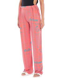 John Galliano Beach Shorts And Pants - Pink
