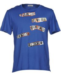 Valentino Camiseta - Azul