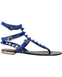 Philipp Plein - Toe Strap Sandals - Lyst