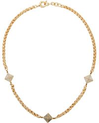 John Richmond - Necklace - Lyst