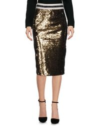 Shirtaporter - 3/4 Length Skirts - Lyst