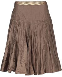 Flavio Castellani - Knee Length Skirt - Lyst