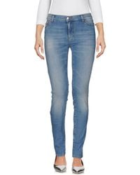 P.A.R.O.S.H. - Denim Trousers - Lyst