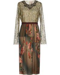 Antonio Marras - 3/4 Length Dresses - Lyst