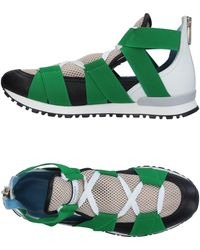 Vionnet - Elastic Banded Rear Zip Trainers - Lyst