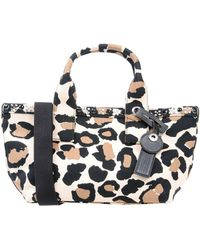 Marc By Marc Jacobs - Small Leopard-print Cotton-canvas Tote - Lyst