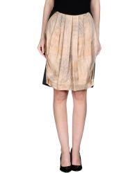 Tru Trussardi - Knee Length Skirt - Lyst