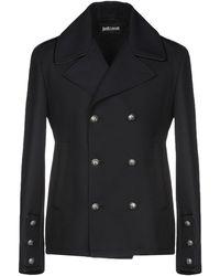 Just Cavalli - Overcoats - Lyst