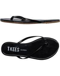 TKEES - Toe Post Sandal - Lyst