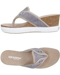Superga - Toe Post Sandal - Lyst