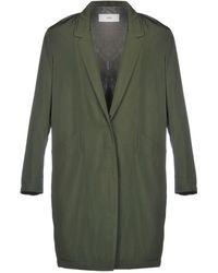 Closed - Overcoat - Lyst