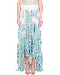 Blumarine - Long Skirt - Lyst