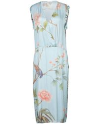 Just In Case - 3/4 Length Dress - Lyst