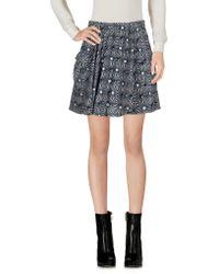 Free People - Mini Skirts - Lyst