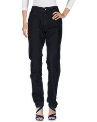 Armani Jeans - Denim Trousers - Lyst