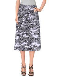Stussy | Knee Length Skirt | Lyst