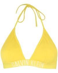 Calvin Klein - Bikini Top - Lyst