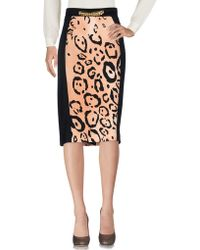 Clips - 3/4 Length Skirts - Lyst
