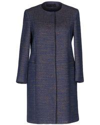 Tru Trussardi - Overcoats - Lyst
