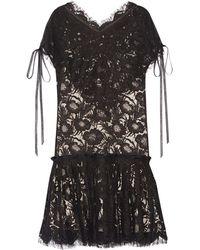 Wes Gordon - Short Dress - Lyst
