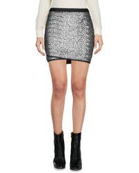 Calvin Klein Jeans - Mini Skirts - Lyst
