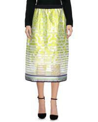 Ostwald Helgason - 3/4 Length Skirt - Lyst