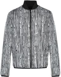 Roberto Cavalli - Synthetic Down Jacket - Lyst