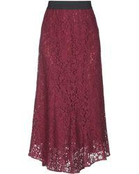 Blugirl Blumarine - 3/4 Length Skirt - Lyst
