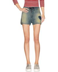 Trussardi - Denim Shorts - Lyst