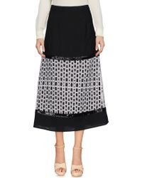 Angelo Marani - 3/4 Length Skirt - Lyst