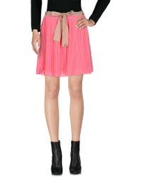 Scee By Twin-set - Mini Skirts - Lyst