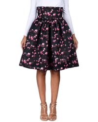 Io Couture - Knee Length Skirt - Lyst