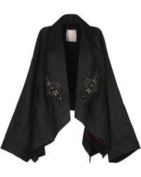 Antonio Marras Overcoat - Black