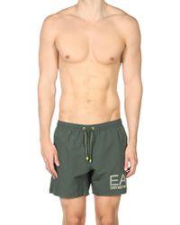 EA7 Short de bain - Vert