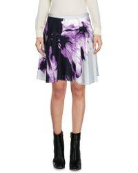 Blue Les Copains - Mini Skirt - Lyst