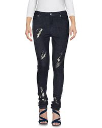 American Retro - Denim Trousers - Lyst