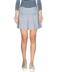 Met - Denim Skirt - Lyst