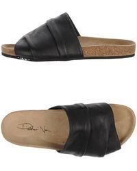 Peter Non - Toe Strap Sandals - Lyst