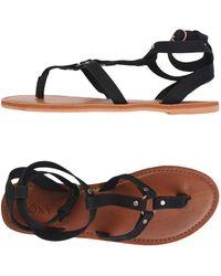 Roxy - Toe Post Sandal - Lyst