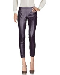 Rebel Queen - Casual Trouser - Lyst