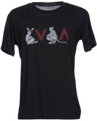 RVCA - T-shirt - Lyst