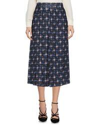 Maliparmi - 3/4 Length Skirts - Lyst