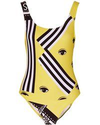 fe69dd3ba9 Kenzo Bamboo Tiger Swimsuit in Blue - Lyst