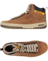 Caterpillar - Sneakers & Tennis shoes alte - Lyst