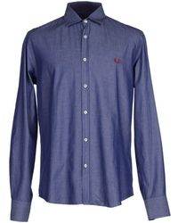 Fred Perry - Shirts - Lyst