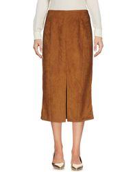 Glamorous - 3/4 Length Skirt - Lyst