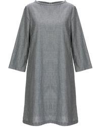 Satine Label - Short Dress - Lyst