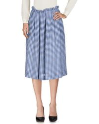 Mother Of Pearl - 3/4 Length Skirt - Lyst
